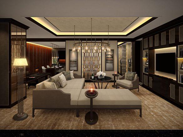 ck棋牌Suite Living Room
