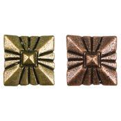 Upholstery Nail Square Shield Pattern