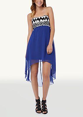 Sequin Chevron Tube Dress