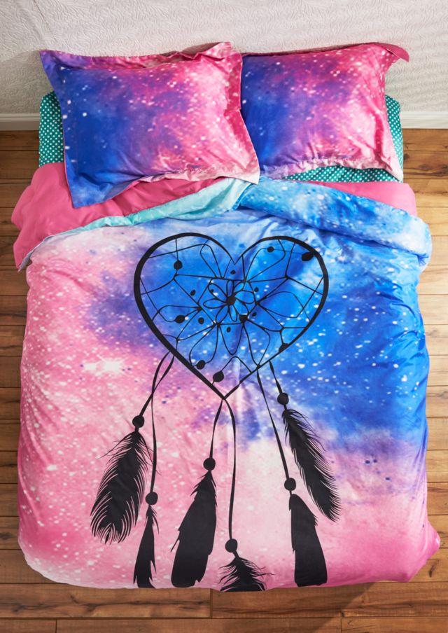 heart dreamcatcher comforter set - full/queen | bedding | rue21 on