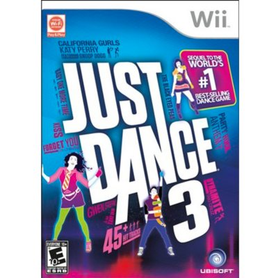 Just Dance 3 (Wii).  Ends: Aug 1, 2014 11:35:00 AM CDT