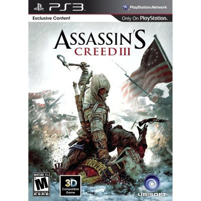 Assassin's Creed 3 - PS3.  Ends: Dec 18, 2014 6:00:00 PM CST