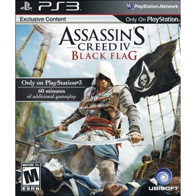 Assassin's Creed IV: Black Flag (PS3).  Ends: Sep 21, 2014 8:00:00 AM CDT