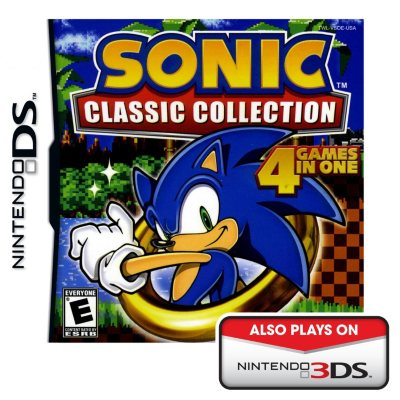 Nintendo DS - Sonic Classic Collection.  Ends: Nov 1, 2014 2:00:00 PM CDT