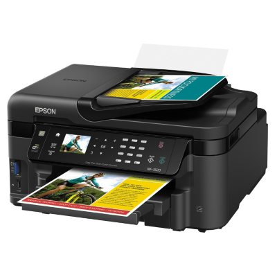 Epson WorkForce WF-3520 Wireless All-in-One Printer.  Ends: Aug 28, 2014 7:00:00 PM CDT