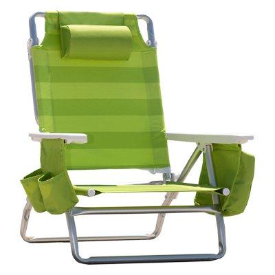 Nautica Beach Chair, Lime.  Ends: Jul 30, 2016 8:00:00 PM CDT
