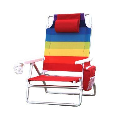 Nautica Rainbow Beach Chair.  Ends: Aug 3, 2015 10:15:00 AM CDT