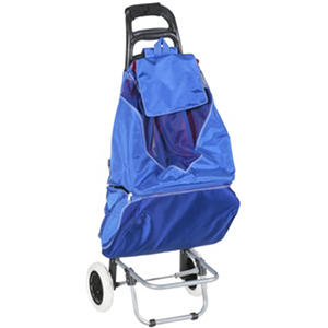 Beach Cooler/Chair Cart - Blue