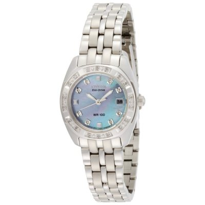 CItizen Eco-Drive Stainless Steel Watch.  Ends: May 28, 2015 5:00:00 AM CDT