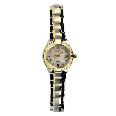 Citizen Ladies's Silhouette Diamond Two‑Tone Watch.  Ends: Dec 18, 2014 11:00:00 PM CST