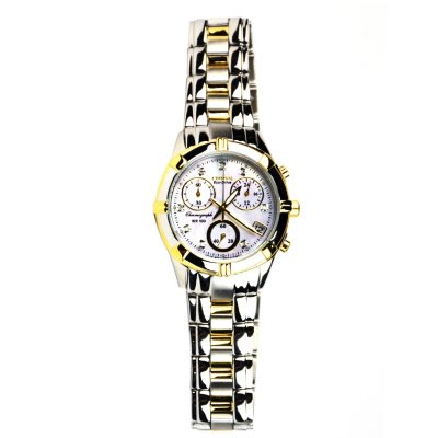 Citizen Eco-Drive Two-Tone Stainless Steel Mother of Pearl Women's Watch