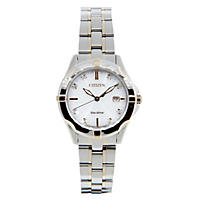 Citizen Eco-Drive Ladies' Two-Tone Stainless Steel Bracelet with Diamond Accents