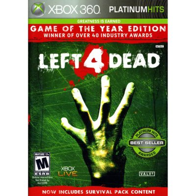 Xbox 360 - Left 4 Dead: Game of the Year Edition.  Ends: Oct 22, 2014 8:45:00 AM CDT