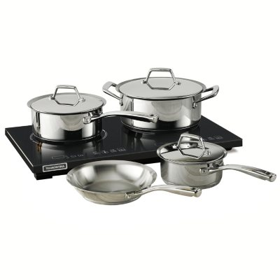 Tramontina 8-Piece Induction Cooking System.  Ends: May 25, 2016 1:00:00 PM CDT