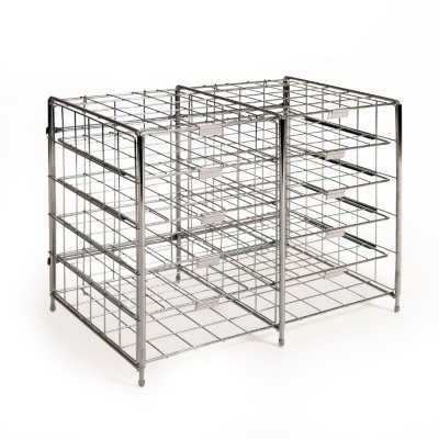 Seville Classics 12-Slot Chrome Desk Organizer Literature Rack.  Ends: Jul 30, 2016 10:00:00 AM CDT
