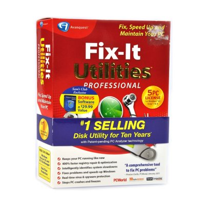 Fix-It Utilities Professional with Anchor Free Hotspot (PC).  Ends: Mar 31, 2015 1:55:00 AM CDT