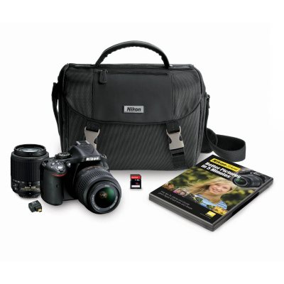 Nikon D5200 24.1MP DSLR Camera Bundle.  Ends: Dec 19, 2014 1:00:00 AM CST