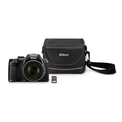 Nikon Coolpix P530 16MP CMOS Camera Bundle with 42x Optical Zoom, 8GB SD Card, and Camera Case.  Ends: Oct 7, 2015 3:00:00 PM CDT