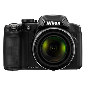 Nikon Coolpix P510 16.1MP Digital Camera with 42x Optical Zoom - Black