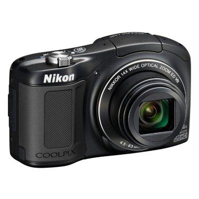 Nikon Coolpix L620 18.1MP CMOS HD with 14x Optical Zoom - Black.  Ends: Mar 31, 2015 6:20:00 AM CDT