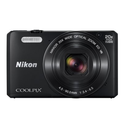 """Nikon Coolpix S7000 16MP CMOS Digital Camera, 3"""" LCD Display, 20x Optical Zoom with built in Wi-Fi.  Ends: May 26, 2016 8:00:00 PM CDT"""