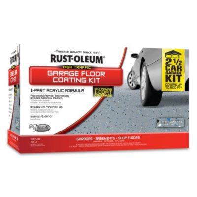 Rust-Oleum Garage Floor Coating Kit.  Ends: Apr 27, 2015 8:15:00 AM CDT