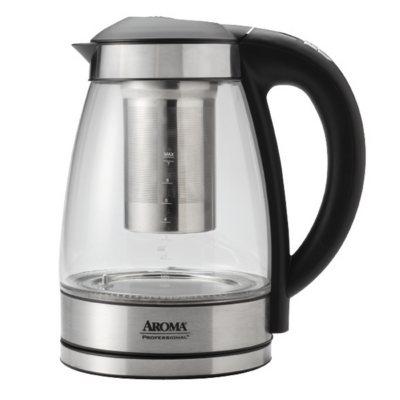 Aroma 1.7L Digital Electric Tea Kettle with Tea Infuser