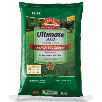 Pennington Ultimate Seed, Covers up to 3750 sq. ft..  Ends: Oct 21, 2014 11:55:00 PM CDT
