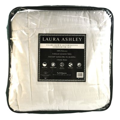 Laura Ashley Down Alternative Comforter, Queen.  Ends: Aug 29, 2015 10:00:00 AM CDT