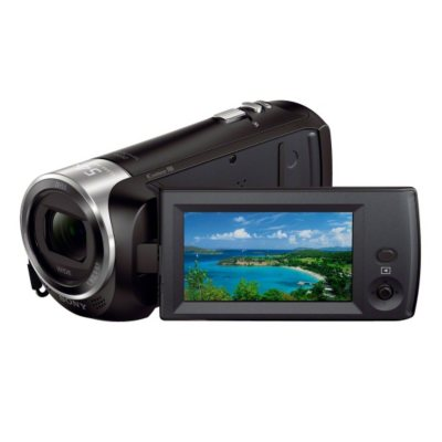 Sony HDR-CX240/B HD Camcorder with 27x Optical Zoom