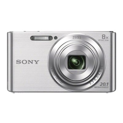 Sony DSCW830 20.1MP Digital Camera with 8x Optical Zoom, Silver.  Ends: Mar 28, 2015 10:12:00 PM CDT