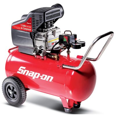Snap-on 11 Gallon 2 HP Air Compressor with 125 PSI Maximum.  Ends: Aug 23, 2014 11:00:00 AM CDT