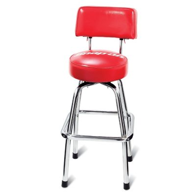 Snap-On Shop Stool w/Backrest.  Ends: Aug 29, 2014 1:55:00 AM CDT