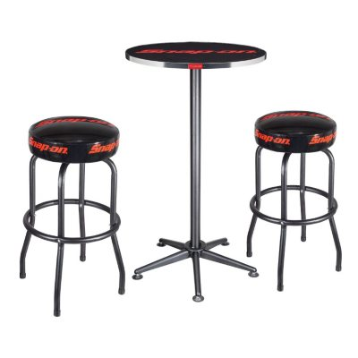 Table and Two Shop Stool Set.  Ends: Jan 30, 2015 12:25:00 AM CST