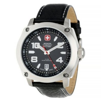 Wenger Swiss Military Black Outback Watch.  Ends: Jul 31, 2016 1:00:00 AM CDT