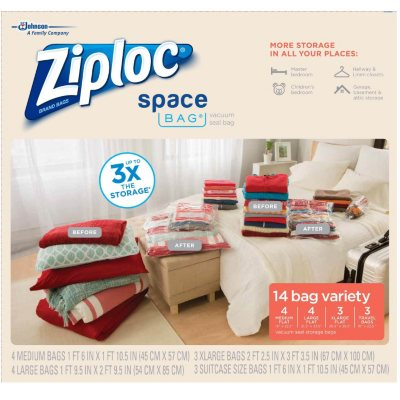 Ziploc Space Bags Combo 14 ct..  Ends: Oct 7, 2015 12:45:00 PM CDT