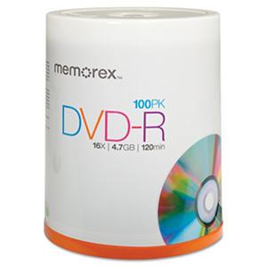 Memorex DVD-R - 100 pk.