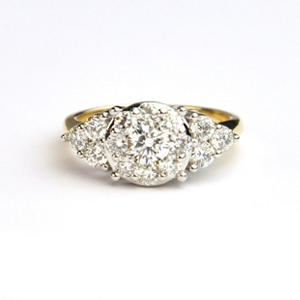 1.50 CT. T.W. 3-Stone Diamond Ring in 14K Two-Tone Gold