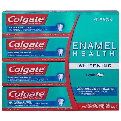 Colgate Enamel Health Whitening Toothpaste (7.2 oz., 4 pk.).  Ends: Feb 14, 2016 5:10:00 AM CST