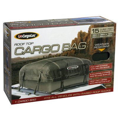Roof Top Cargo Bag (15 cu. ft.).  Ends: Dec 23, 2014 6:05:00 AM CST