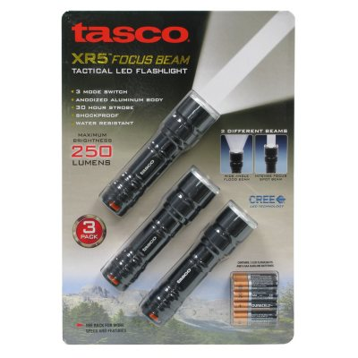 Tasco XR5 Focus Beam Flashlight.  Ends: Feb 13, 2016 12:40:00 PM CST
