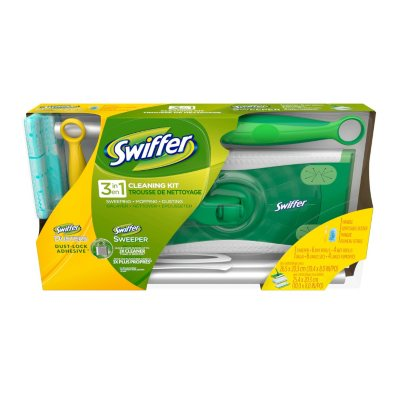 Swiffer 3-in-1 Cleaning Kit.  Ends: Oct 1, 2014 7:45:00 AM CDT