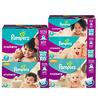 Pampers Cruisers Diapers, Size 3 (152 Count)