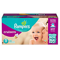 Pampers Cruisers Diapers Size 5 - 120 Count
