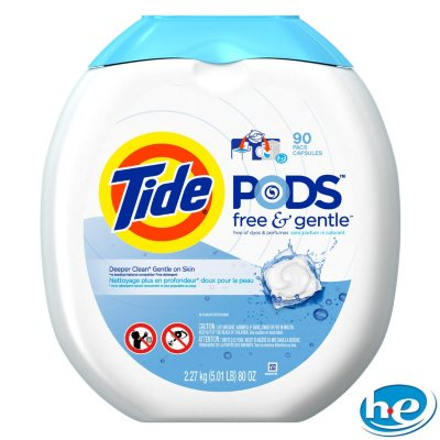 Tide Free & Gentle Laundry Pod (90 ct.).  Ends: Sep 19, 2014 1:35:00 PM CDT