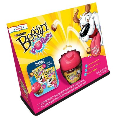 Beggin Party Poppers Dog Treats (24 oz.).  Ends: Jul 30, 2014 3:25:00 PM CDT