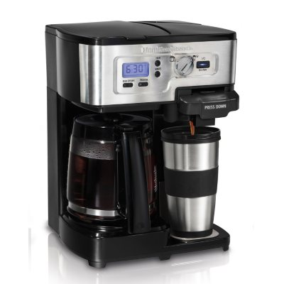 Hamilton Beach 2-Way FlexBrew Coffeemaker.  Ends: Aug 29, 2014 8:00:00 AM CDT