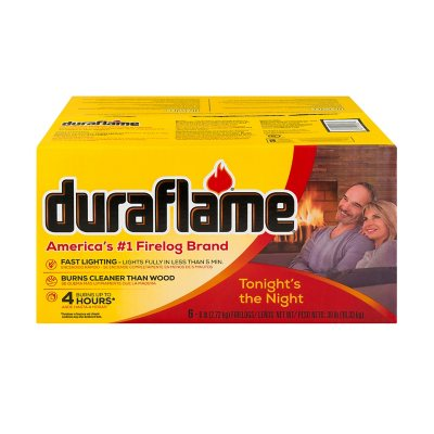 Duraflame Xtra All-Natural 4 Hour Firelogs - 6 lbs. each - 6 ct..  Ends: Jun 26, 2016 2:35:00 PM CDT