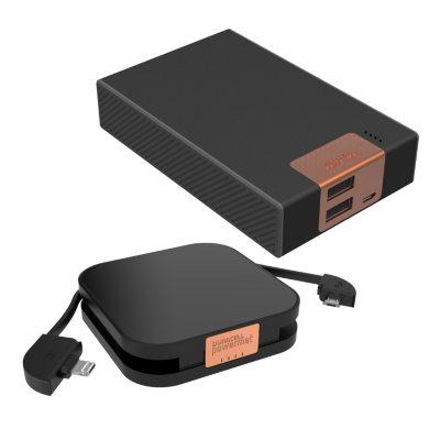 Duracell Powermat Portable Charger Set w/ 2 Backup Batteries