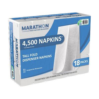 Marathon, Tall Fold Dispenser Napkins (4,500 Napkins).  Ends: Aug 22, 2014 3:40:00 PM CDT